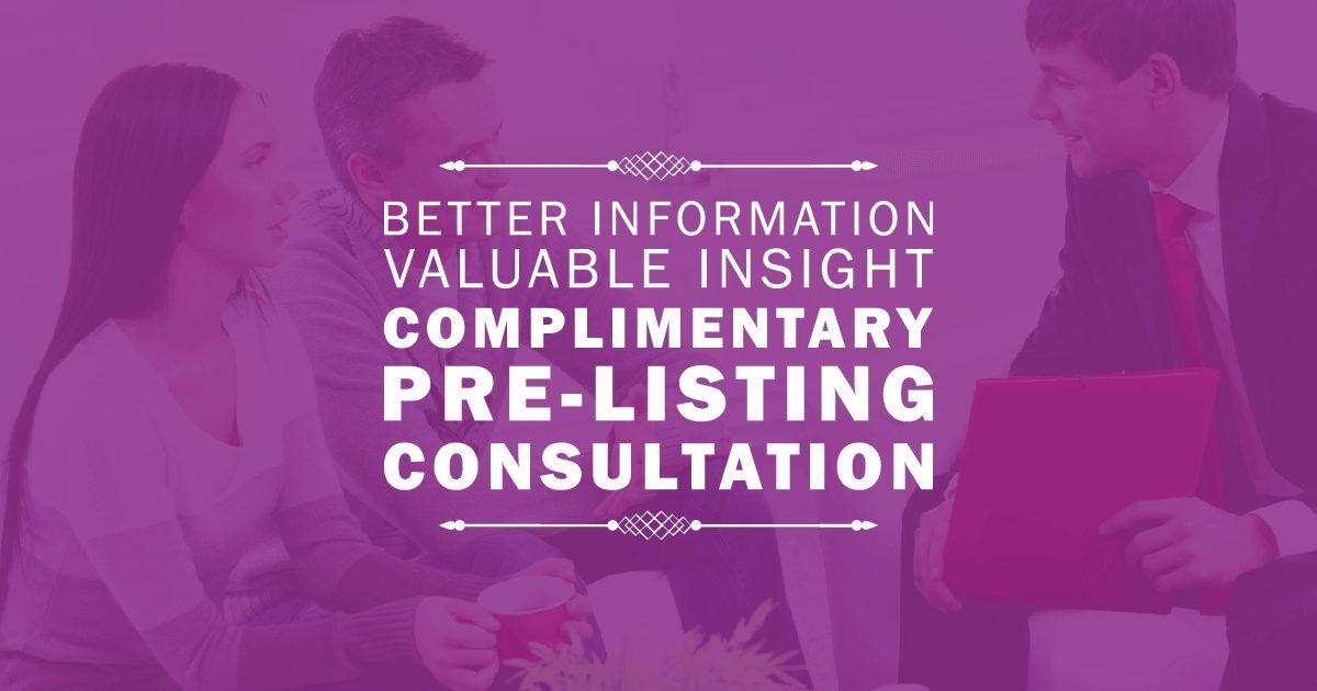 PreListing Consultation